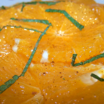 Macedonia de naranja con menta (Marroquí)