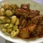 Pollo Atlanta: Con coca cola y sobre de sopa de cebolla
